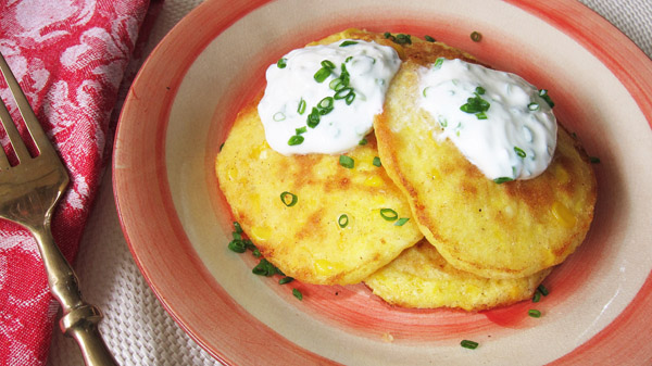 Traditional Corn Fritters