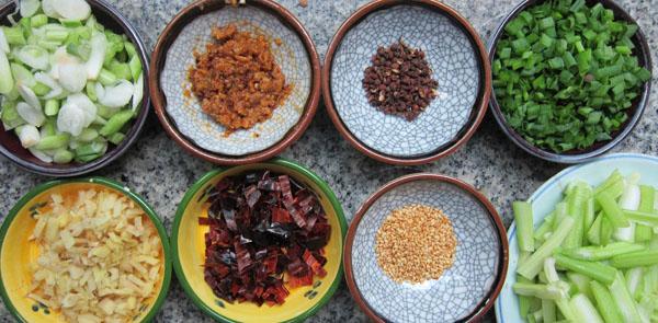 Szechuan Beef ingredients