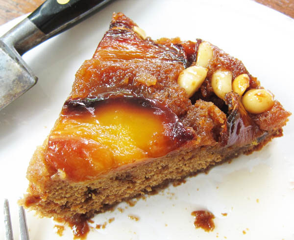 Tropical Ginger Cake With Jackfruit At My Kitchen Table