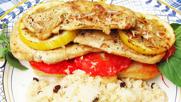 Lemon Chicken Panino