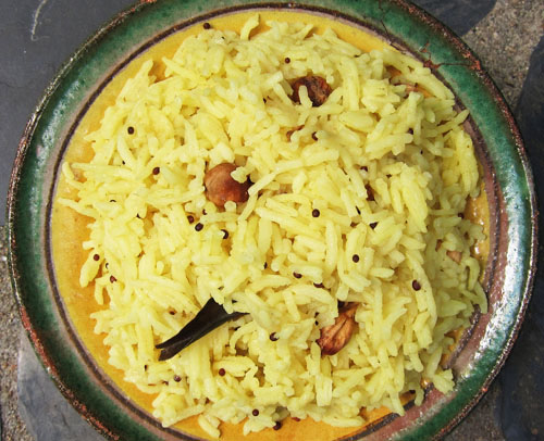 South Asian Yellow Rice