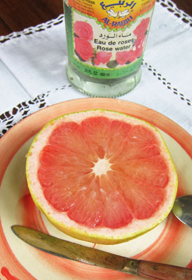 Pink Grapefruit with Rosewater