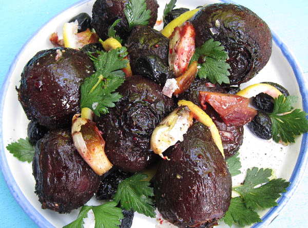Roasted Beets with Preserved Lemon