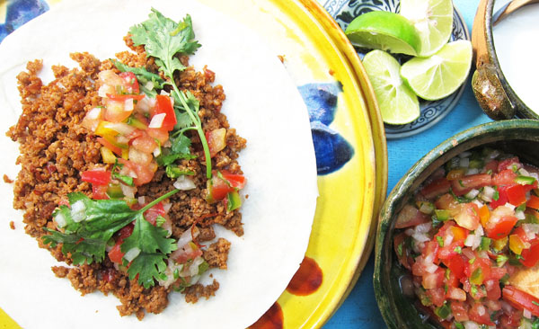 Mexican Chorizo Soft Tacos