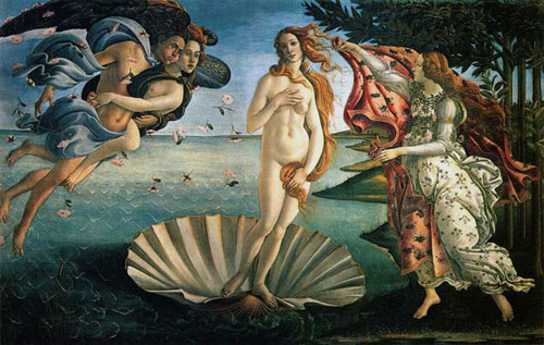 Botticelli's The -Birth-of Venus