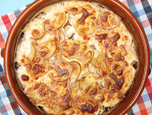Rustic Potato Gratin