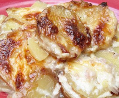 Rustic Potato Gratin