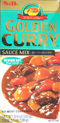S&B Golden Curry Sauce Mix