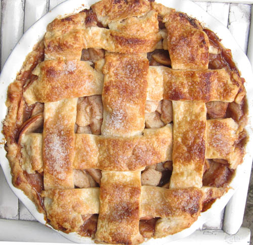 Apple Pie with Apple Butter