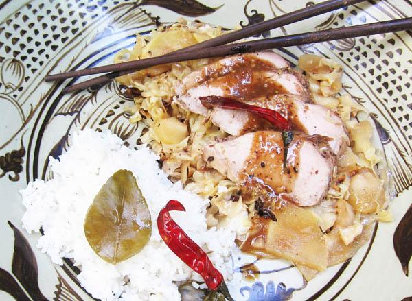 Sichuan Pork Tenderloin