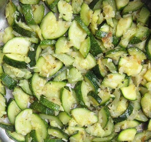 Braised Zucchini