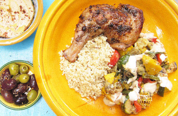 Roasted Ras el Hanout Chicken