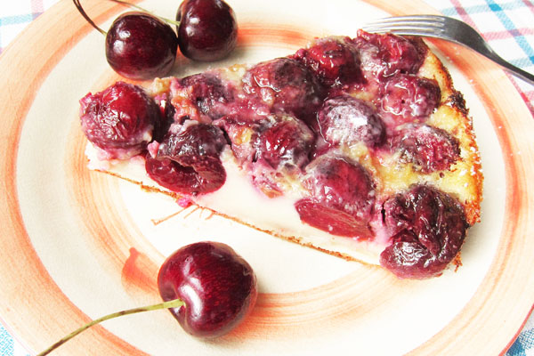Fresh Cherry Clafouti
