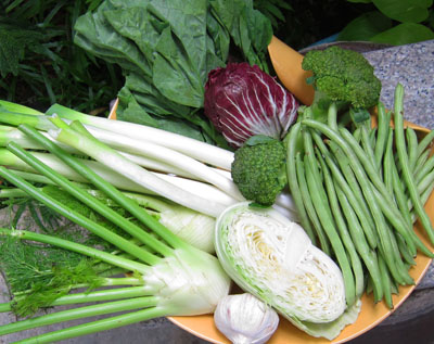 vegetables for slow cooking