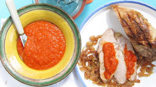AJVAR: Balkan Roasted Red Pepper Relish