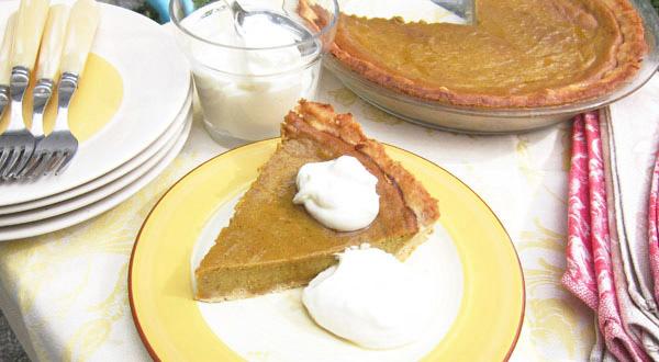An Unforgettable Pumpkin Pie