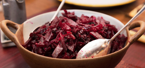 Roasted Beet Salad with Currants and Anise  photo: Kevin West