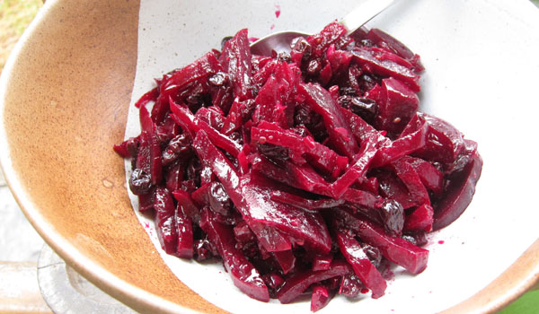 Roasted Beet Salad with Currants and Anise