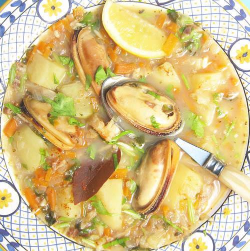 Mediterranean Mussels Stew