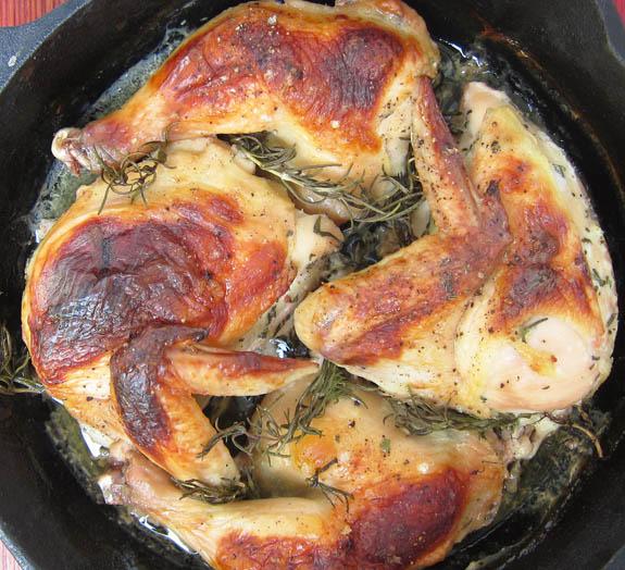 Buttermilk Marinated Roasted Chicken