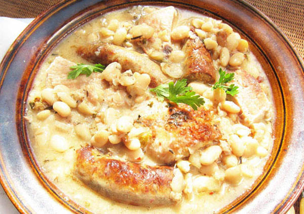 A Summer Cassoulet