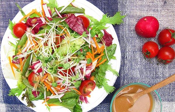 Miso Wasabi Salad Dressing