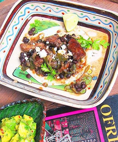 Dia de los Muertos Mole de Olla con Pollo y Chorizo