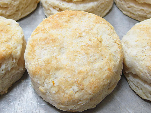 Southern Raised Buttermilk Biscuits