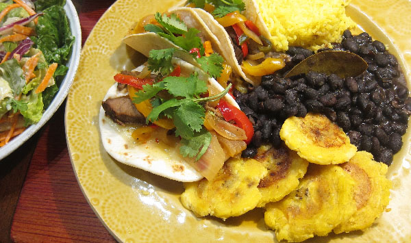 Cuban Chinese Taco Plate